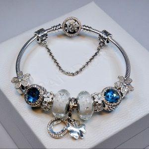 Pandora Blue Diamond Bracelet